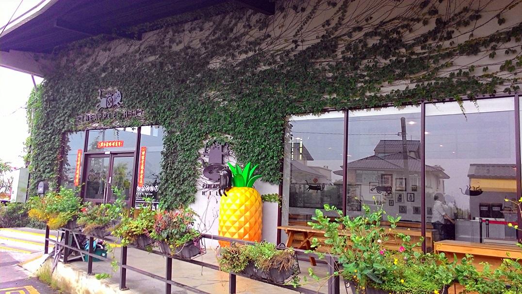 嘉義包車旅遊景點旺萊山鳳梨文化園區