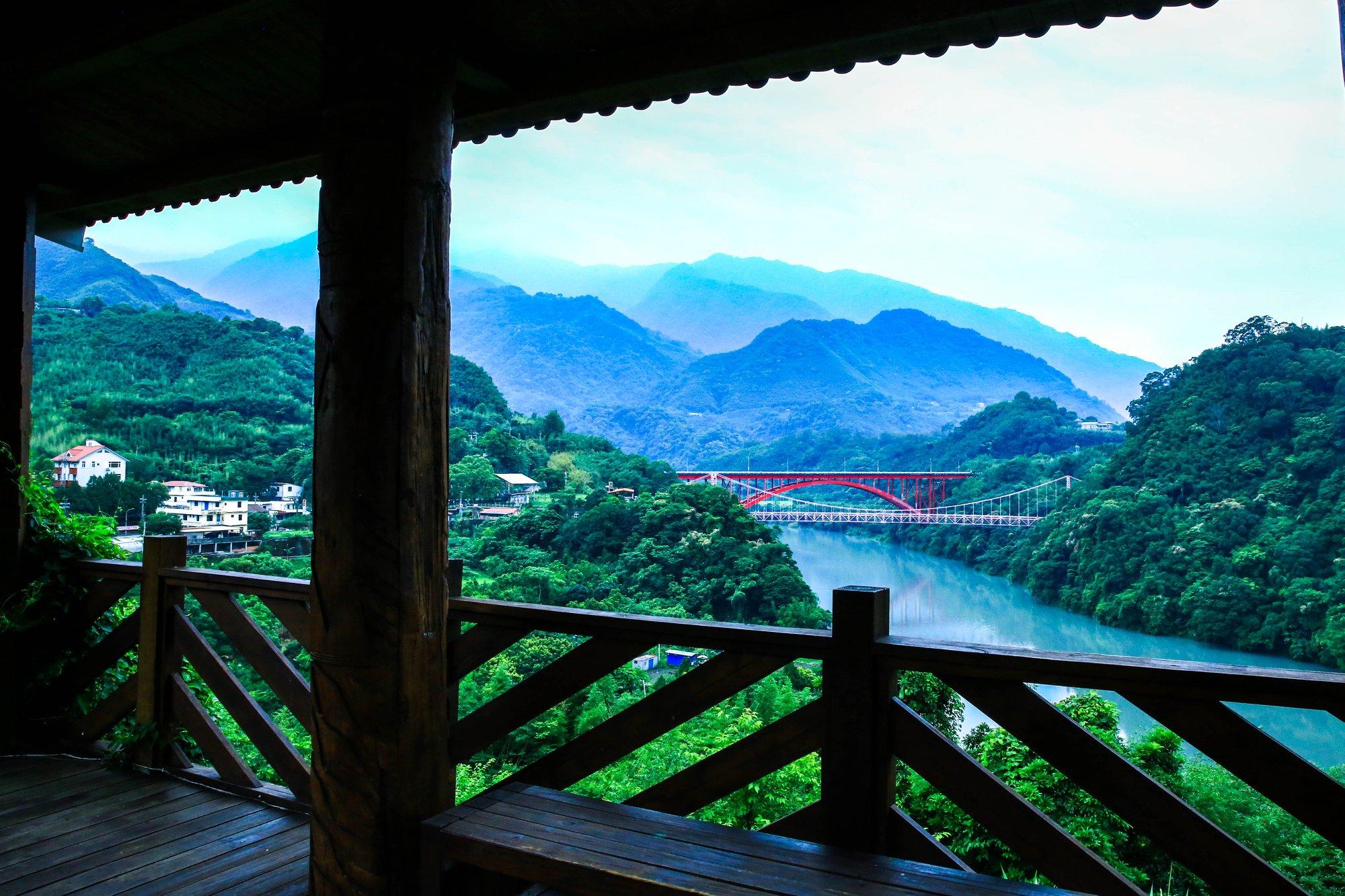 桃園包車旅遊私房景點、羅浮村、義盛村